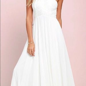 NWT, Lulu's White Dress, XS